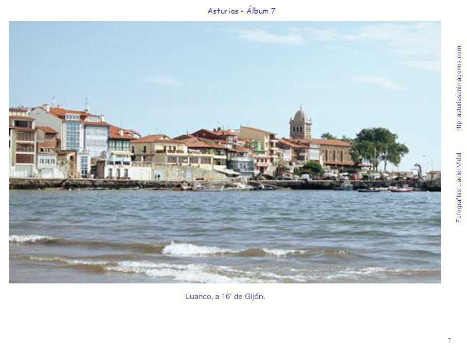 Asturias - Álbum 7 Luanco, a 16 de Gijón.