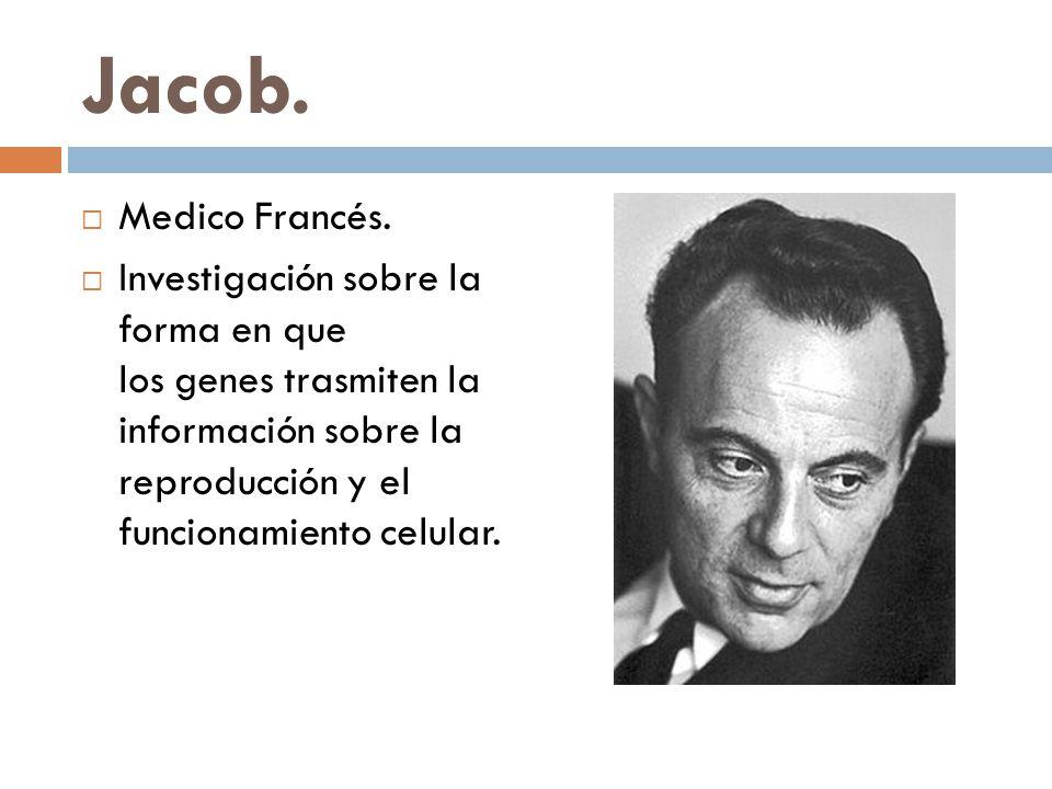 Jacob. Medico Francés.
