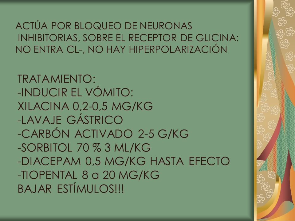 -CARBÓN ACTIVADO 2-5 G/KG -SORBITOL 70 % 3 ML/KG
