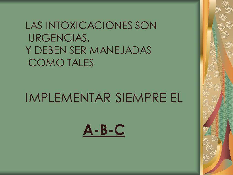 IMPLEMENTAR SIEMPRE EL A-B-C