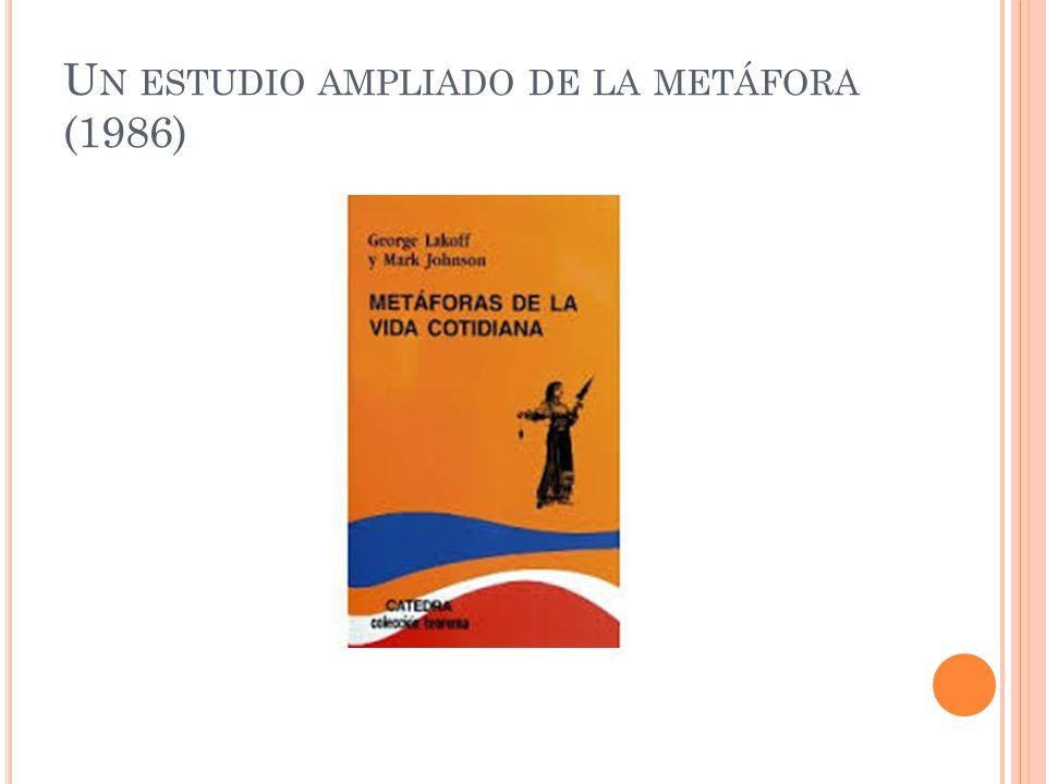 Un estudio ampliado de la metáfora (1986)