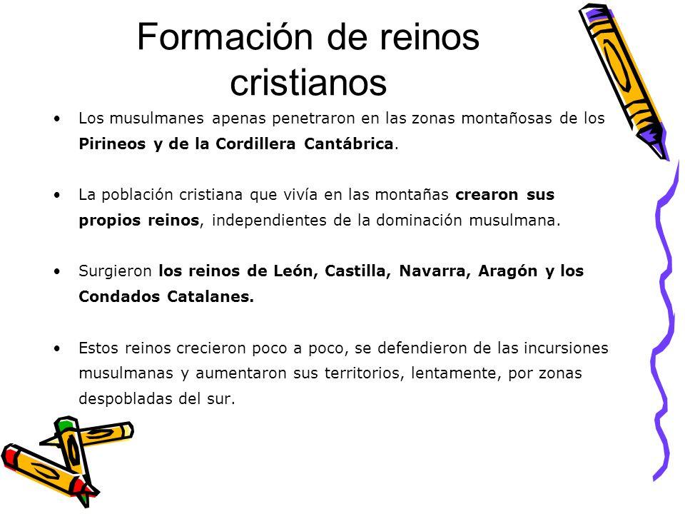 Formación de reinos cristianos