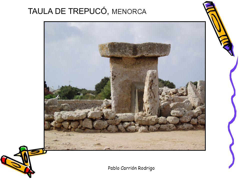 TAULA DE TREPUCÓ, MENORCA