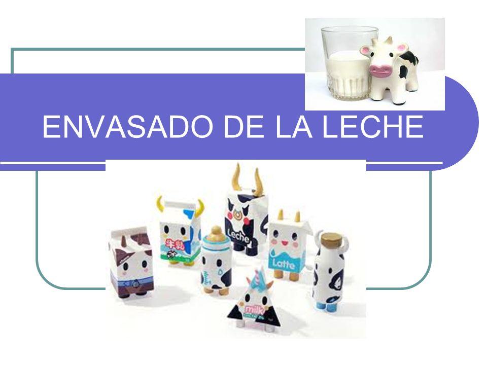 ENVASADO DE LA LECHE