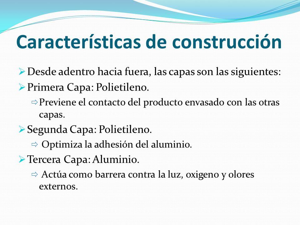Características de construcción