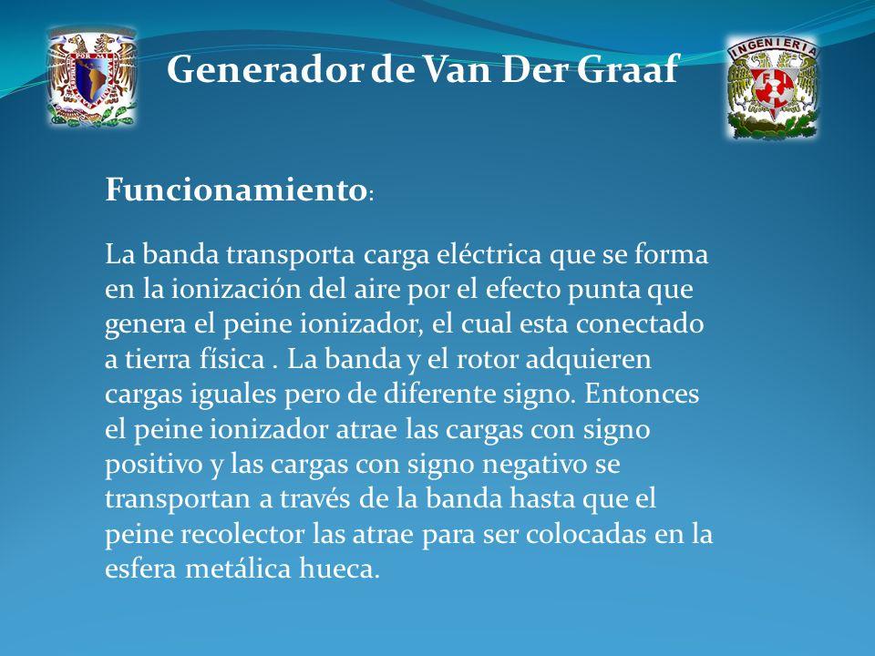 Generador de Van Der Graaf