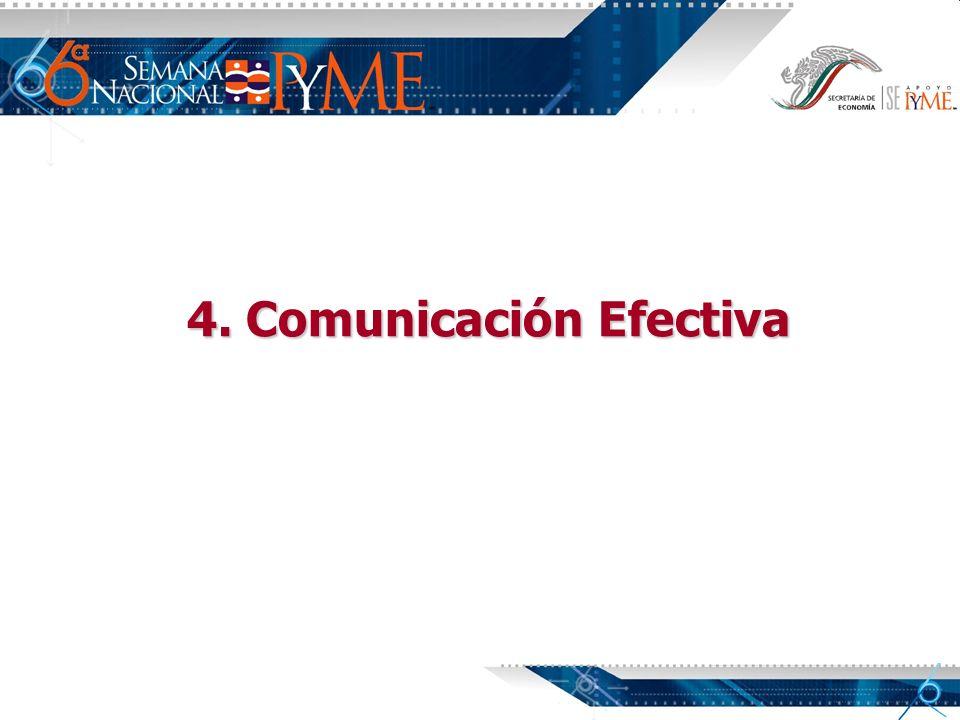 4. Comunicación Efectiva