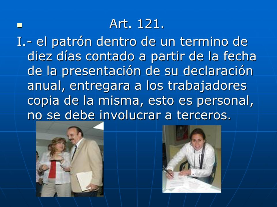 Art. 121.