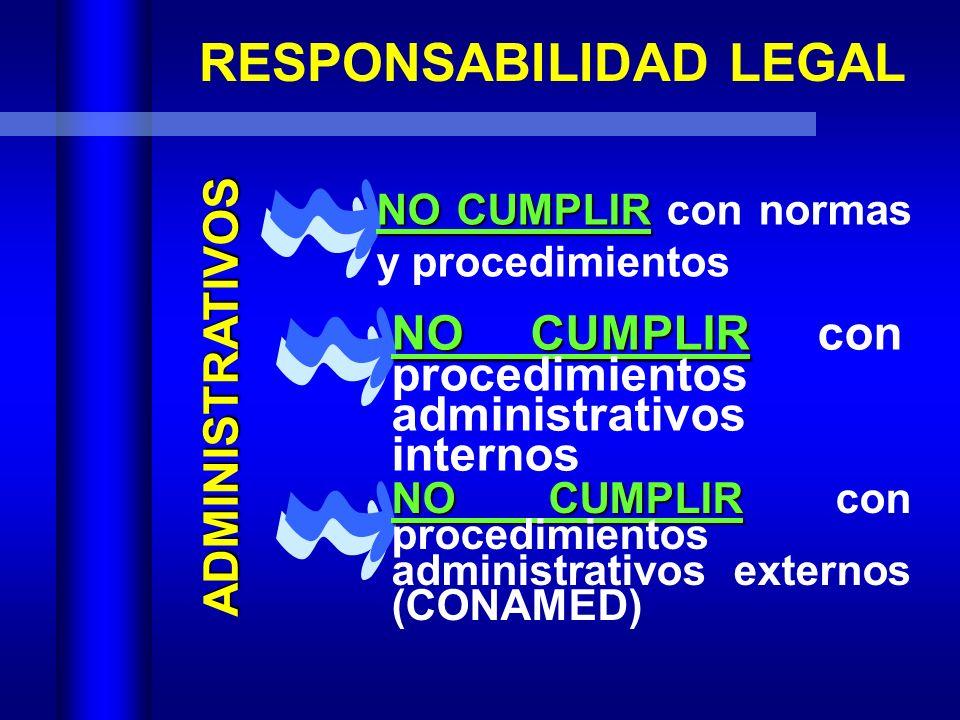 Protecci n legal para enfermer a e s p evangelina for Responsabilidad legal