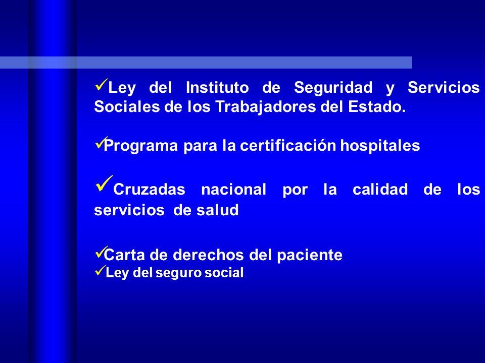 Cruzadas nacional por la calidad de los servicios de salud