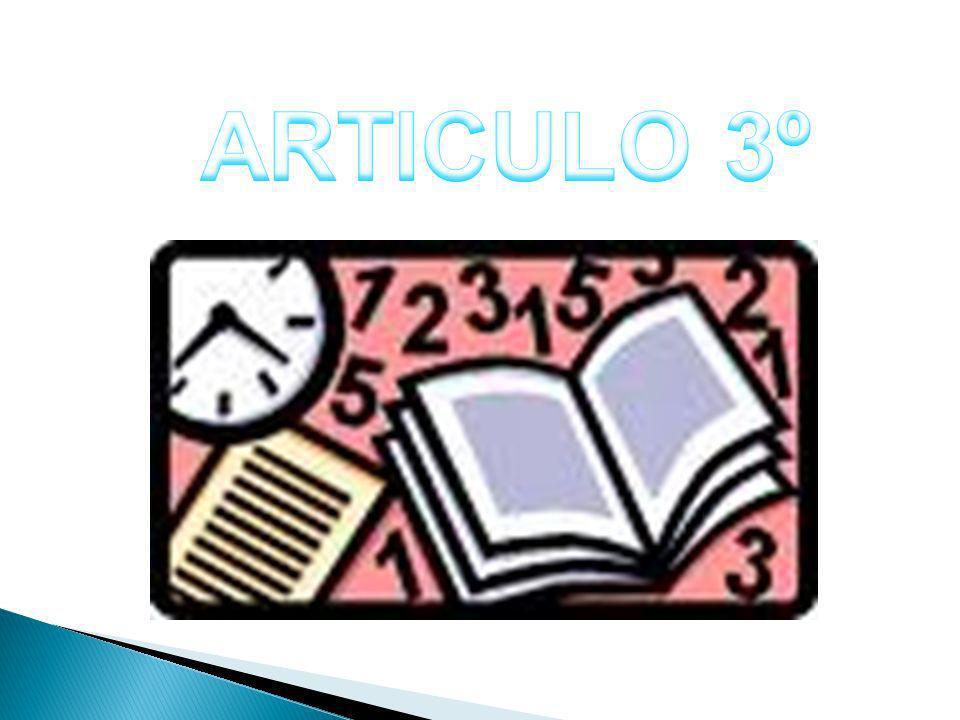 ARTICULO 3º