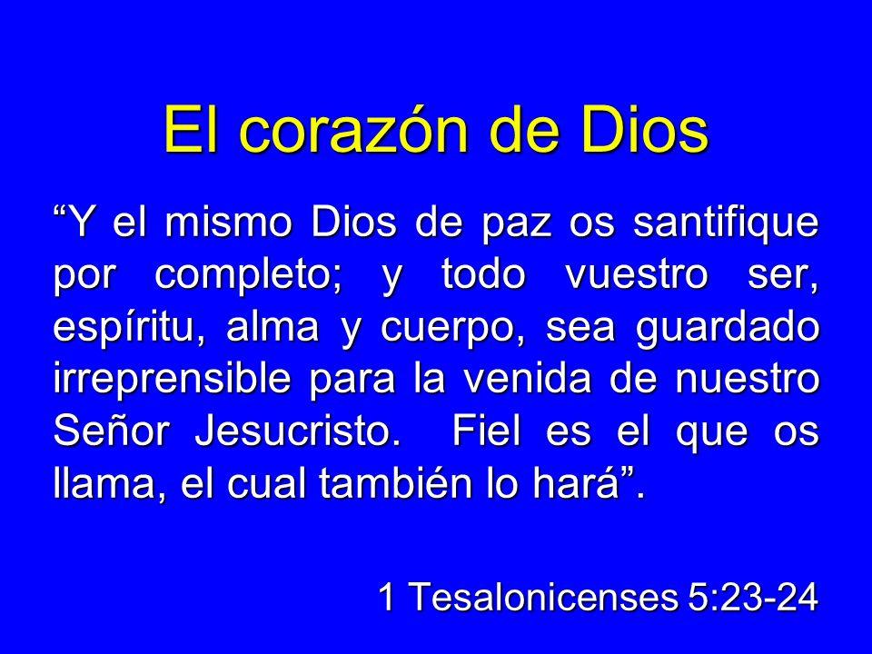 El corazón de Dios