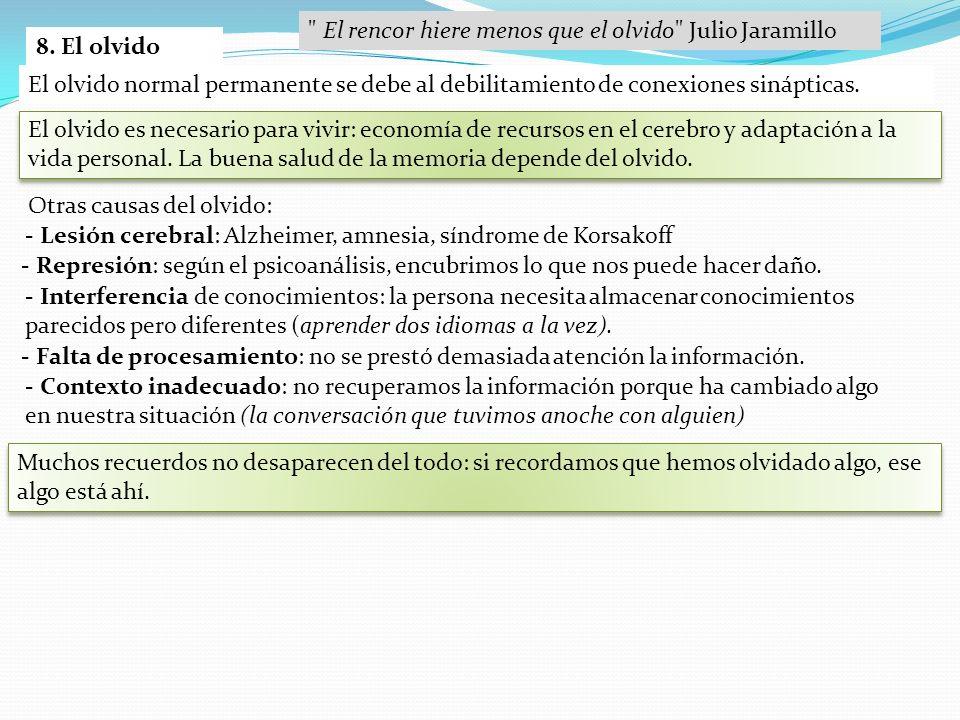 El rencor hiere menos que el olvido Julio Jaramillo