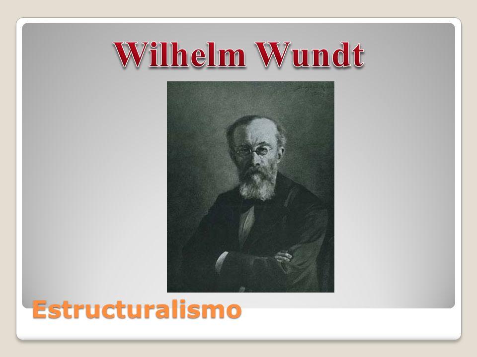 Wilhelm Wundt Estructuralismo