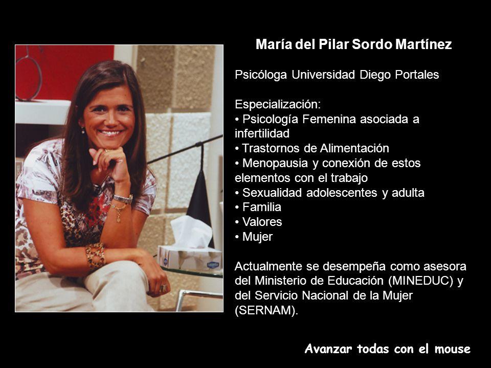 María del Pilar Sordo Martínez