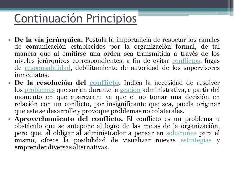 Continuación Principios