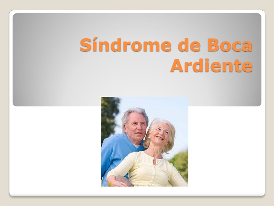 Síndrome de Boca Ardiente