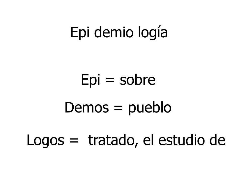 Logos = tratado, el estudio de