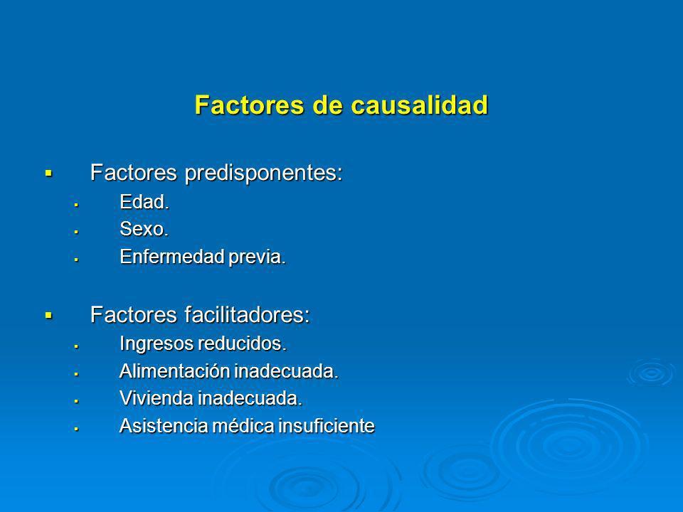 Factores de causalidad