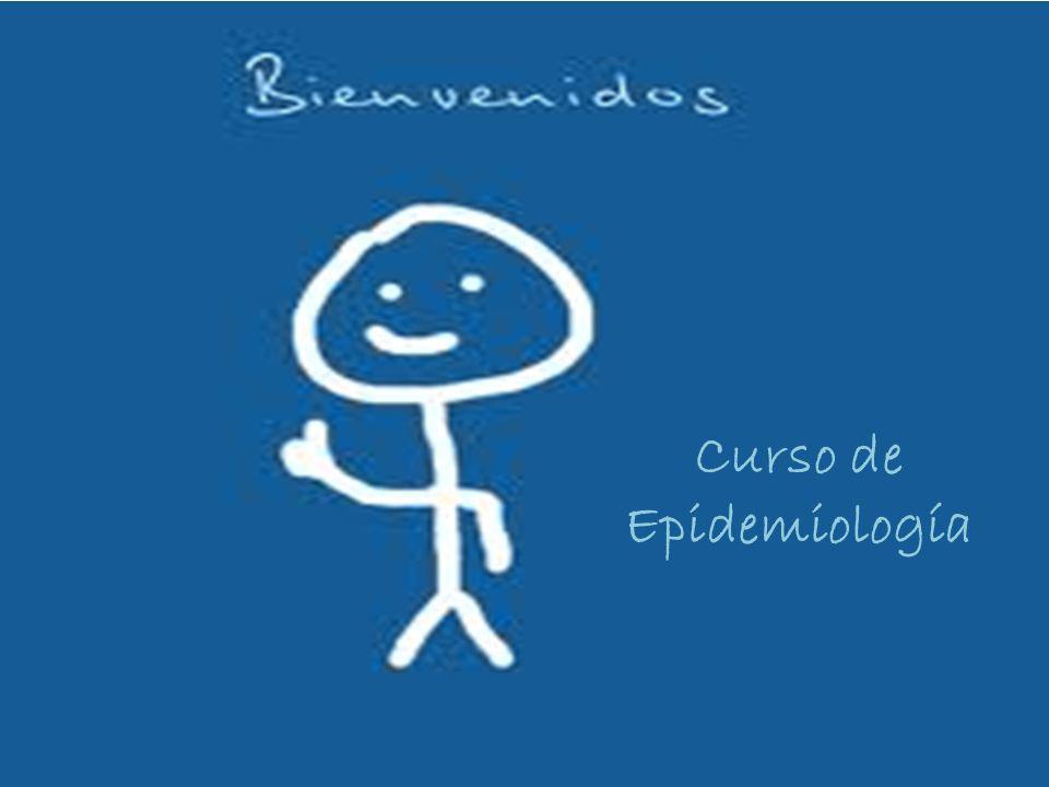 Curso de Epidemiología