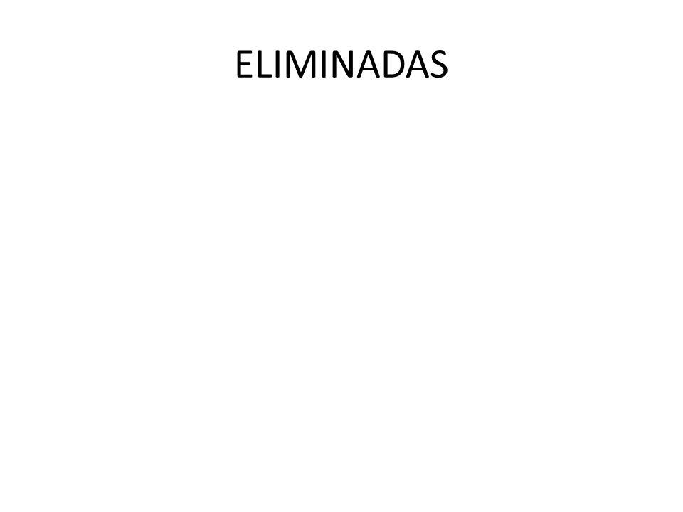 ELIMINADAS