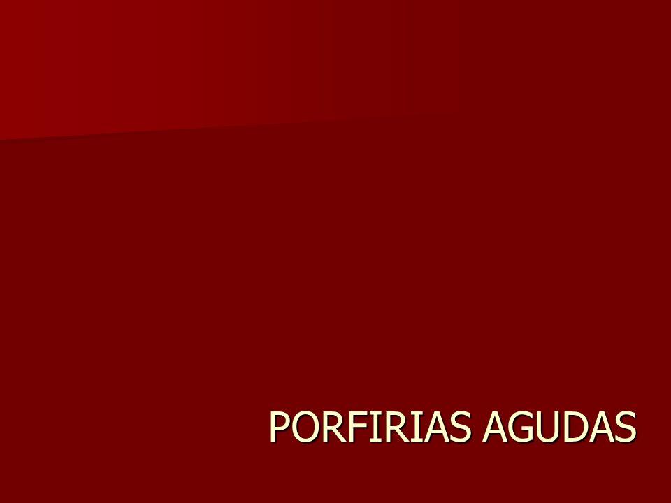 PORFIRIAS AGUDAS