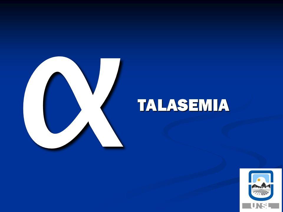 α TALASEMIA