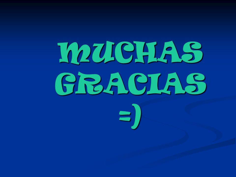 MUCHAS GRACIAS =)