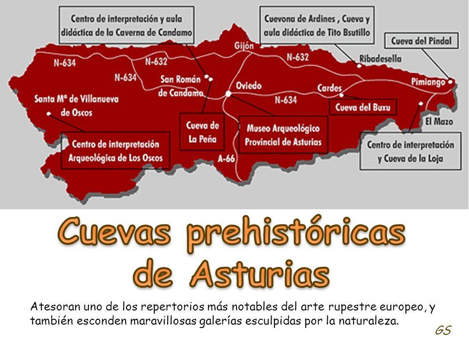 Cuevas prehistóricas de Asturias