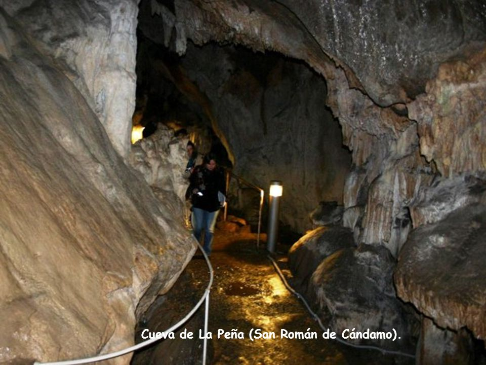 Cueva de La Peña (San Román de Cándamo).