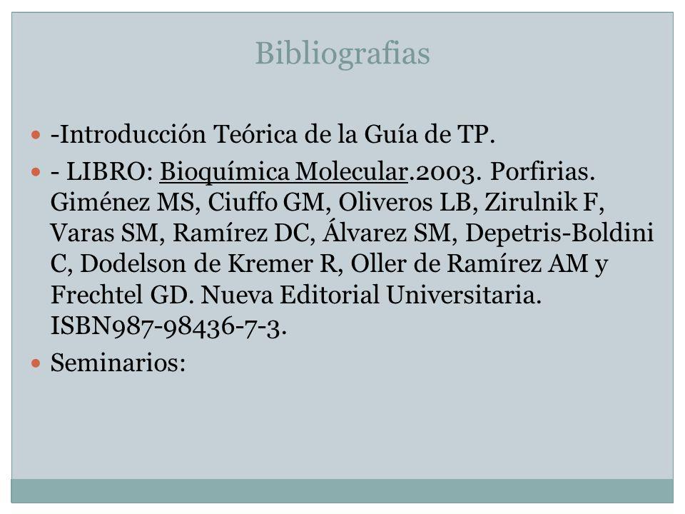 Bibliografias -Introducción Teórica de la Guía de TP.