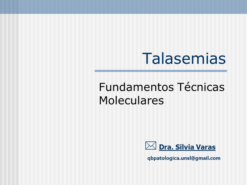 Fundamentos Técnicas Moleculares