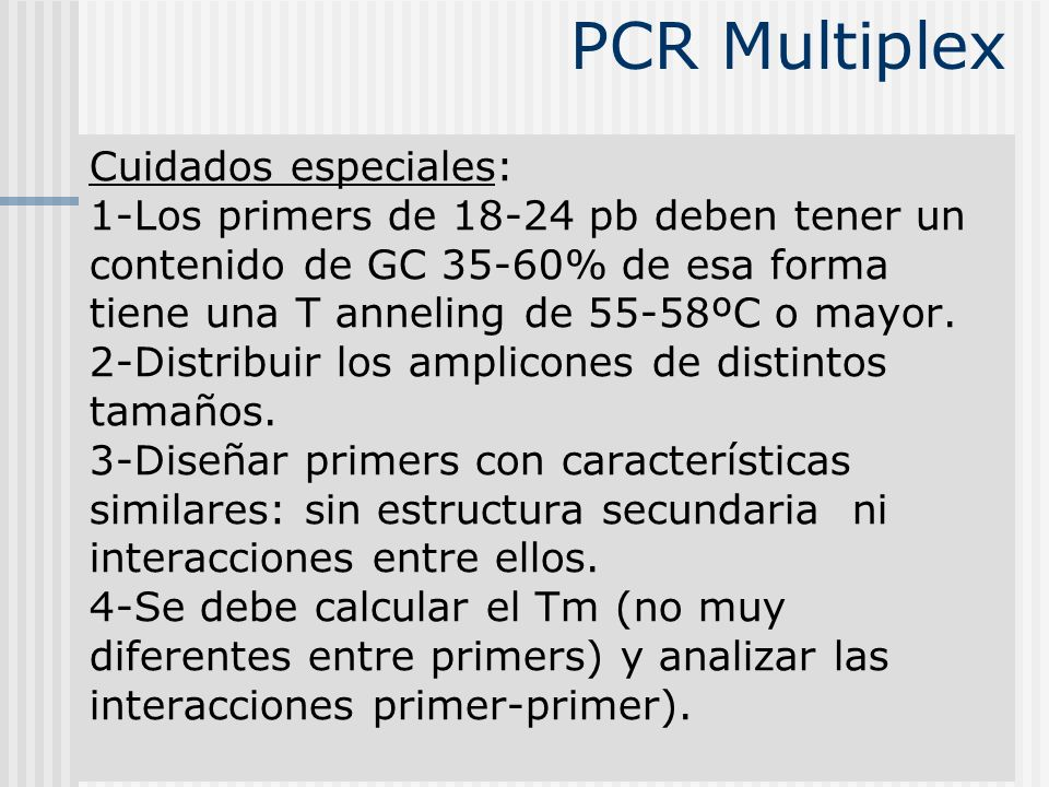 PCR Multiplex
