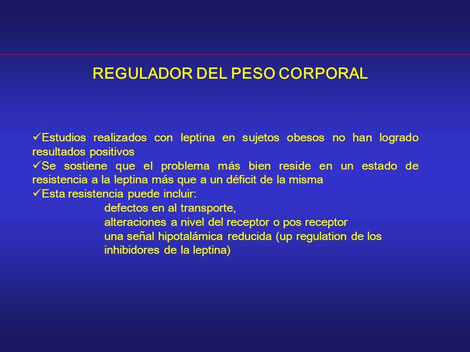 REGULADOR DEL PESO CORPORAL