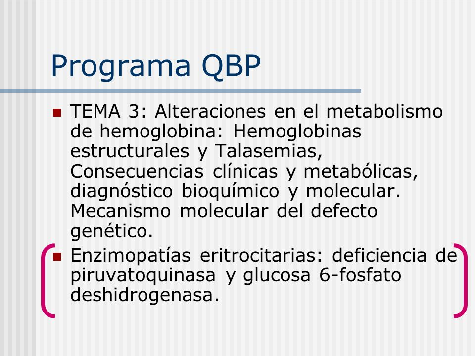 Programa QBP