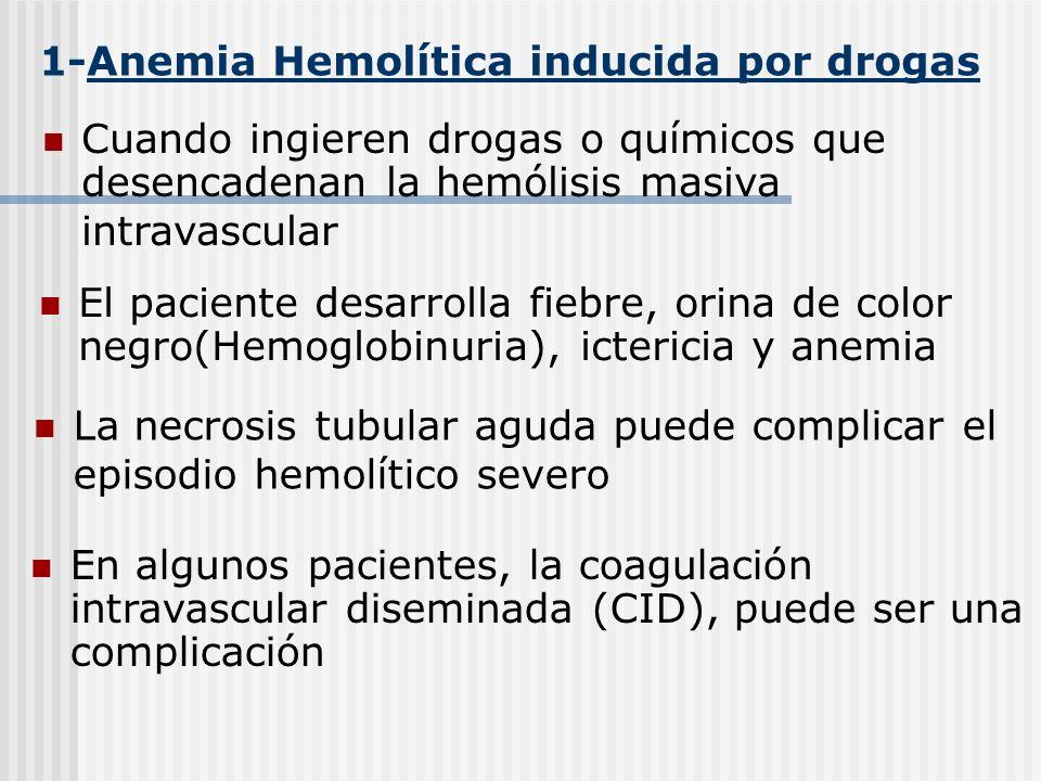 1-Anemia Hemolítica inducida por drogas
