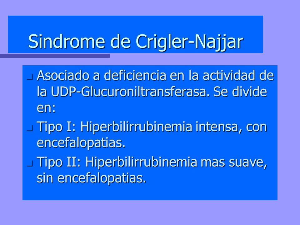 Sindrome de Crigler-Najjar