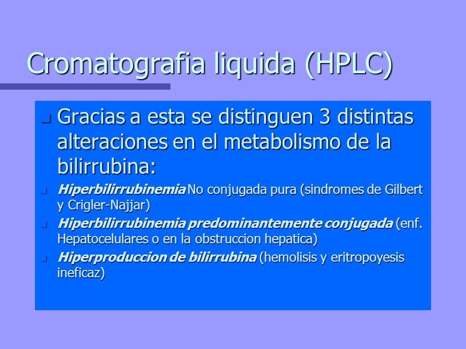 Cromatografia liquida (HPLC)