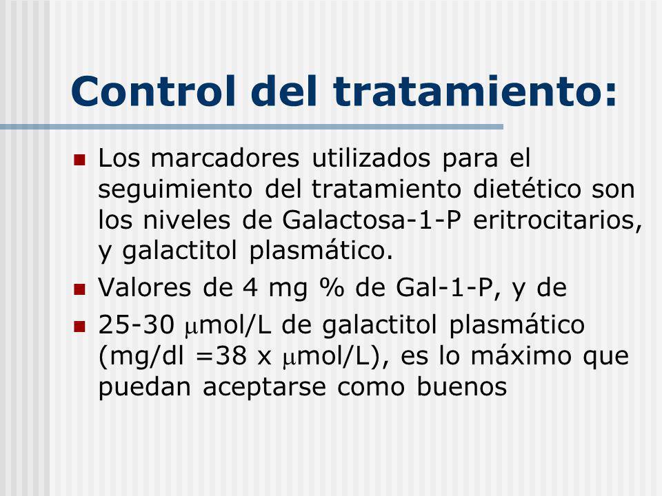 Control del tratamiento: