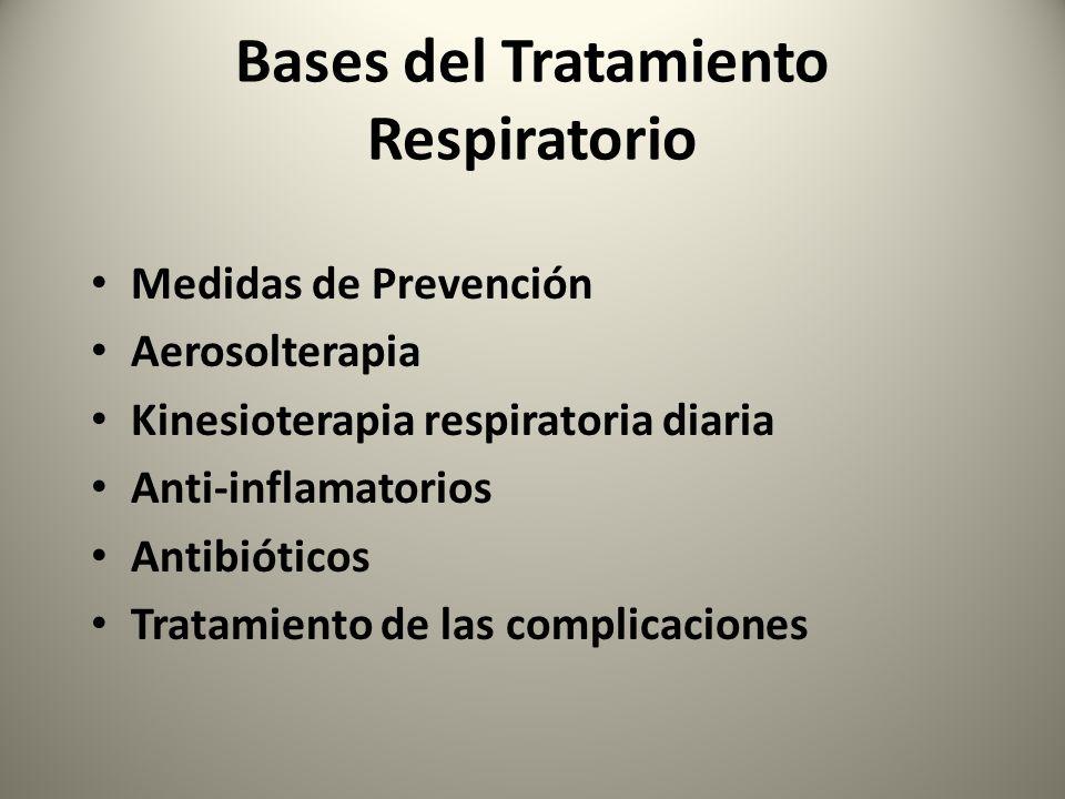 Bases del Tratamiento Respiratorio