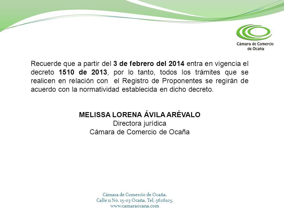 MELISSA LORENA ÁVILA ARÉVALO