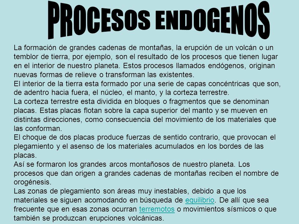 PROCESOS ENDOGENOS