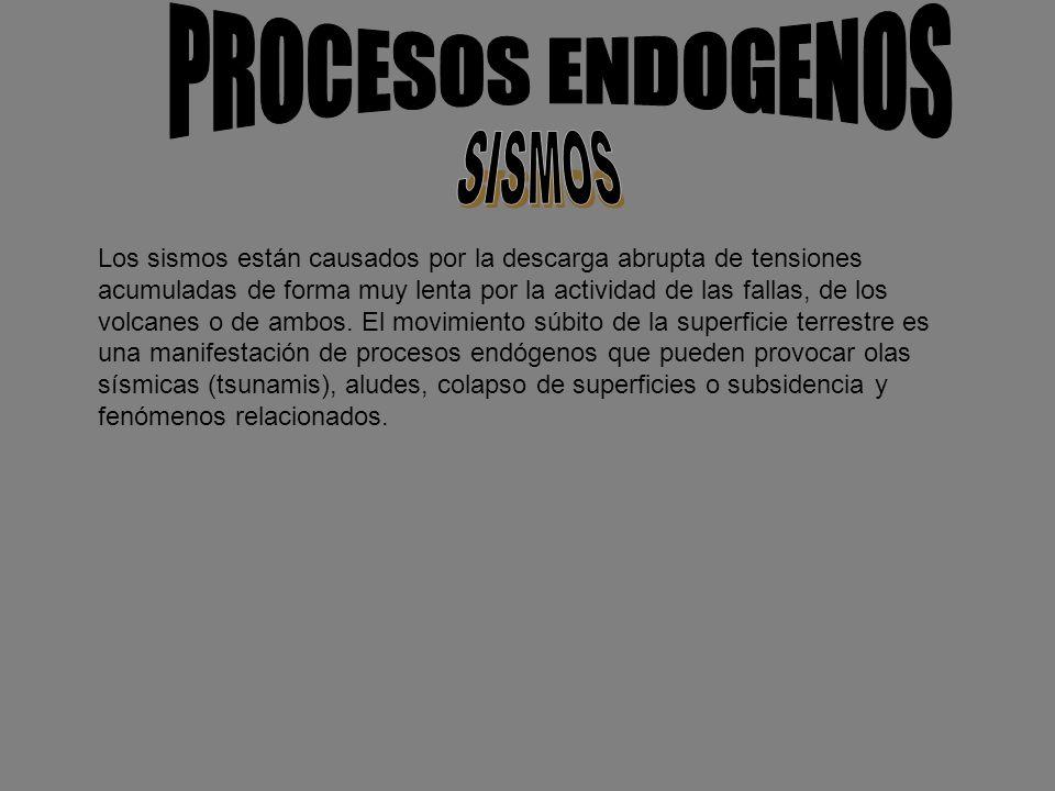PROCESOS ENDOGENOS SISMOS