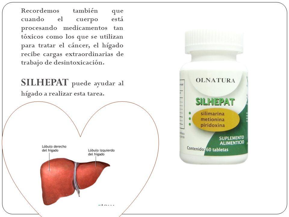 SILHEPAT puede ayudar al hígado a realizar esta tarea.