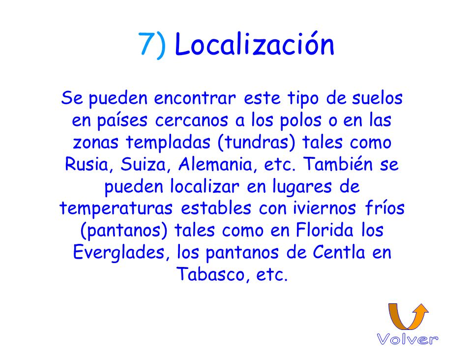 7) Localización
