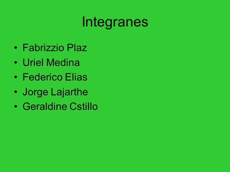 Integranes Fabrizzio Plaz Uriel Medina Federico Elias Jorge Lajarthe