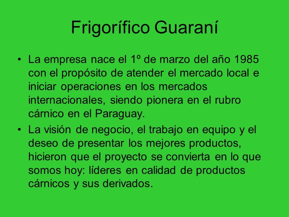 Frigorífico Guaraní