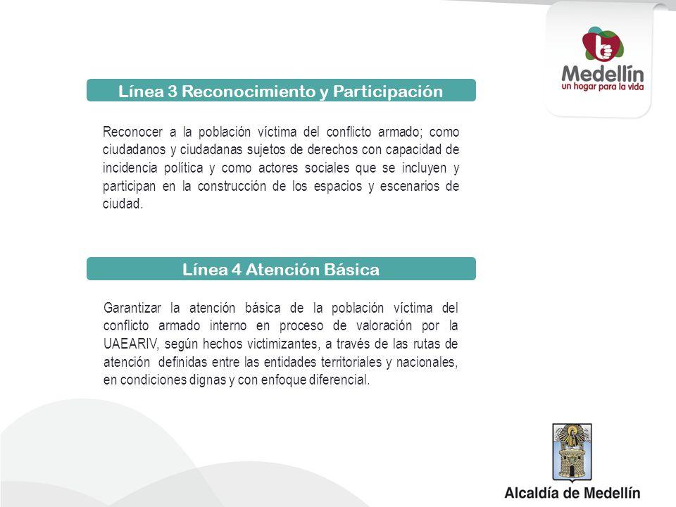 Línea 3 Reconocimiento y Participación