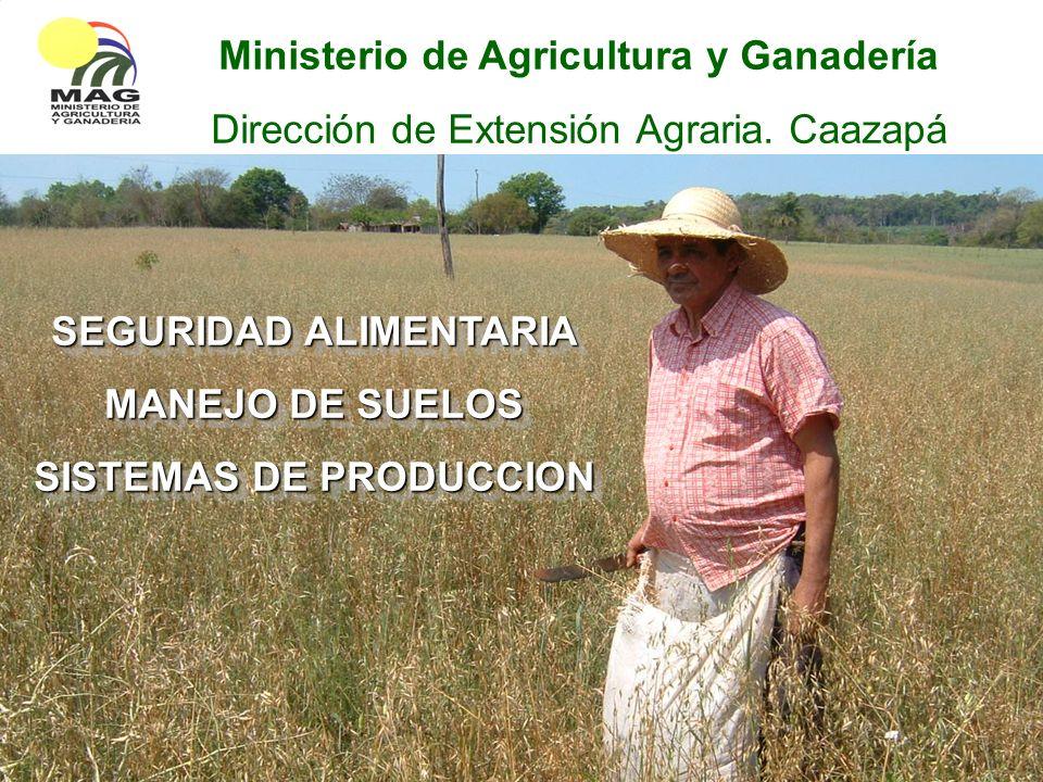Ministerio de Agricultura y Ganadería