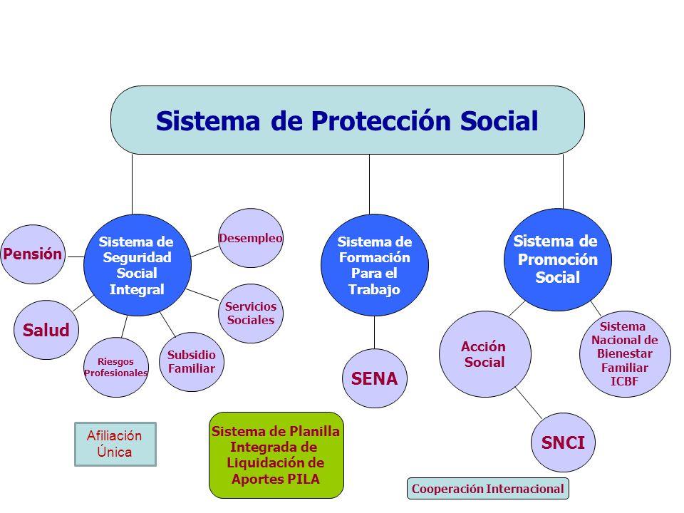 Sistema de Protección Social Cooperación Internacional